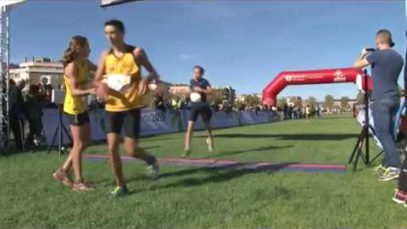 Rècord històric amb més de 4500 participants a la primera Cursa Popular d'Igualada que es fa al parc Central