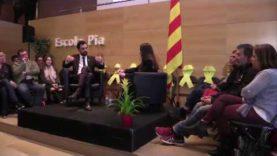 Roger Torrent s'estrena a Igualada com a president del Parlament per assistir a la conversa d'Anoia Diari i al sopar d'ERC