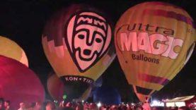 El Night Glow acomiada un dels European Balloon Festival amb més globus al cel
