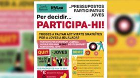 L'Ajuntament d'Igualada destinarà 15.000 euros als pressupostos participatius de Joventut