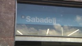 El Banc de Sabadell situat a Casa Jorba baixa portes