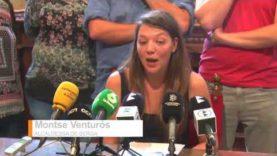 L'alcaldessa de Berga, Montse Venturós és cridada a declarar