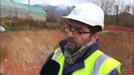 En marxa els treballs de construcció de la futura depuradora de Borredà