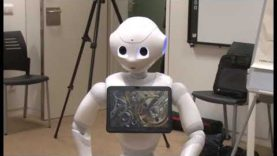 Robot Pepper a prova a Althaia