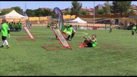 L'escola de porters de Callús va celebrar la segona edició de batalla de porters dissabte 30 de juny