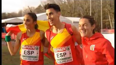 Esther Guerrero ha quedat campiona d'europa de cross en la categoria de relleus mixta
