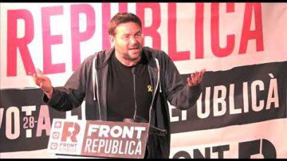 El Front Republicà comença campanya a Manresa