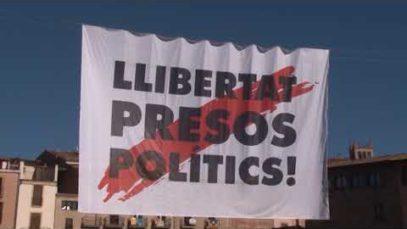 Familiars dels presos polítics a la 'presó'
