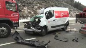 Accident mortal a l'Eix Transversal