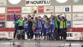 El Voltregà femení guanya la sisena Copa d'Europa