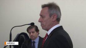 Josep Anglada, condemnat a dos anys de presó i d'inhabilitació, ja no pot ser candidat