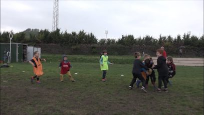 La base del rugby català, a Vic