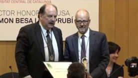 Ramon Besa, Doctor Honoris Causa de la UVic-UCC