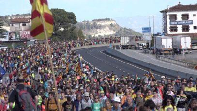10.000 persones inicien la Marxa de la Llibertat