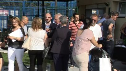 La piscina de l'Alzinar de Masquefa a ple rendiment després de les obres de millora