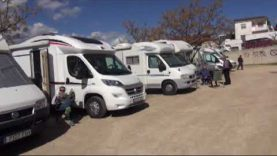 Piera s'inunda d'autocaravanes amb la trobada anual de la Unió Caravanista