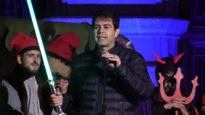 """Igualada enceta el Nadal amb un espectacle protagonitzat per """"Els Pastorets"""" de la ciutat"""