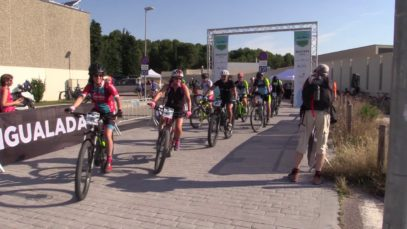 LA NOTÍCIA QUE ES MOU| E-LOWING | 150 ciclistes d'arreu del país patricipen al Catalunya E-bike Tour a l'Anoia