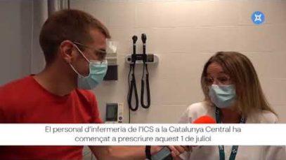 NEX – Infermers/es de la Catalunya Central ja poden signar receptes sense la validació del metge/ssa