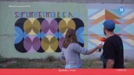 Chema-B omple diferents carrers d'Igualada i Montbui amb graffitis