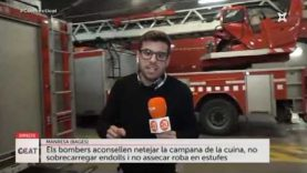 Prevenció d'incendis a la llar amb Bombers