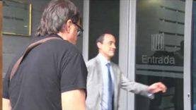 Jordi Pesarrodona acusat de desobediència greu