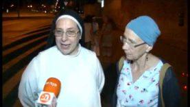 Sor Lucía Caram organitza una pregària en suport als migrants del vaixell d'Open Arms