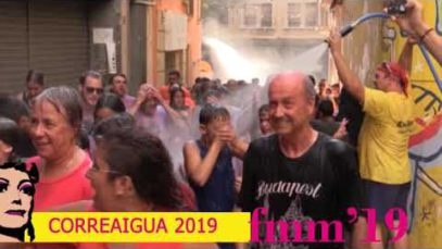 Trobada de bateries i Correaigua a la Festa Major de Manresa 2019