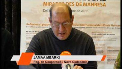 """Campanya """"Mirades des de Manresa"""" en el marc del Dia Internacional dels Drets Humans"""