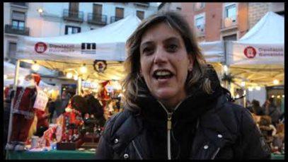 La Fira de Santa Llúcia omple de festa i compres nadalenques el centre de Manresa