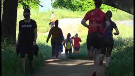 El Passeig del Riu i el Congost amb molta afluència d'esportistes