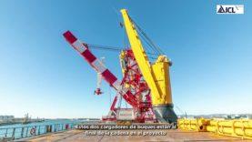 Un gran vaixell d'ICL sortirà de la nova terminal del port cap a Brasil