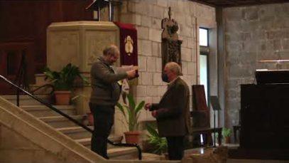 Cardona inaugura la restauració de l'orgue de la parròquia de Sant Miquel