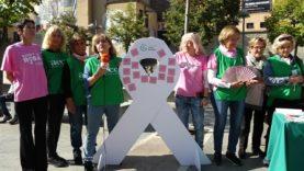 Manresa commemora el Dia Mundial contra el càncer de mama